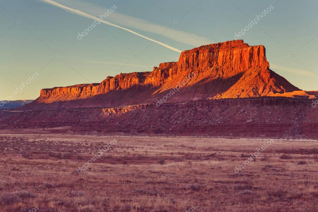 colorfull American landscapes
