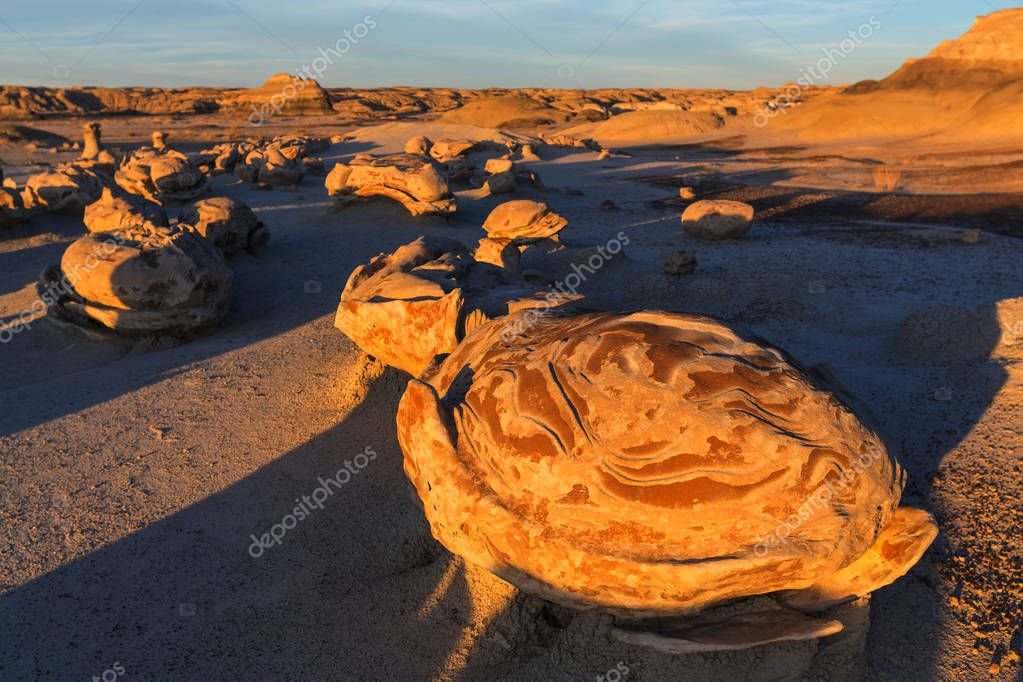 Bisti badlands wilderness area