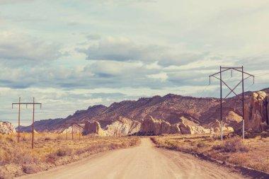Utah landscapes Sandstone formations