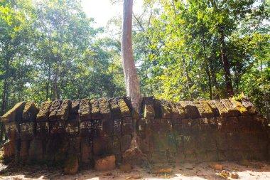 Ancient Khmer civilization ruins of Angkor