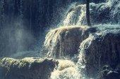 vodopád v džungli, Mexiko