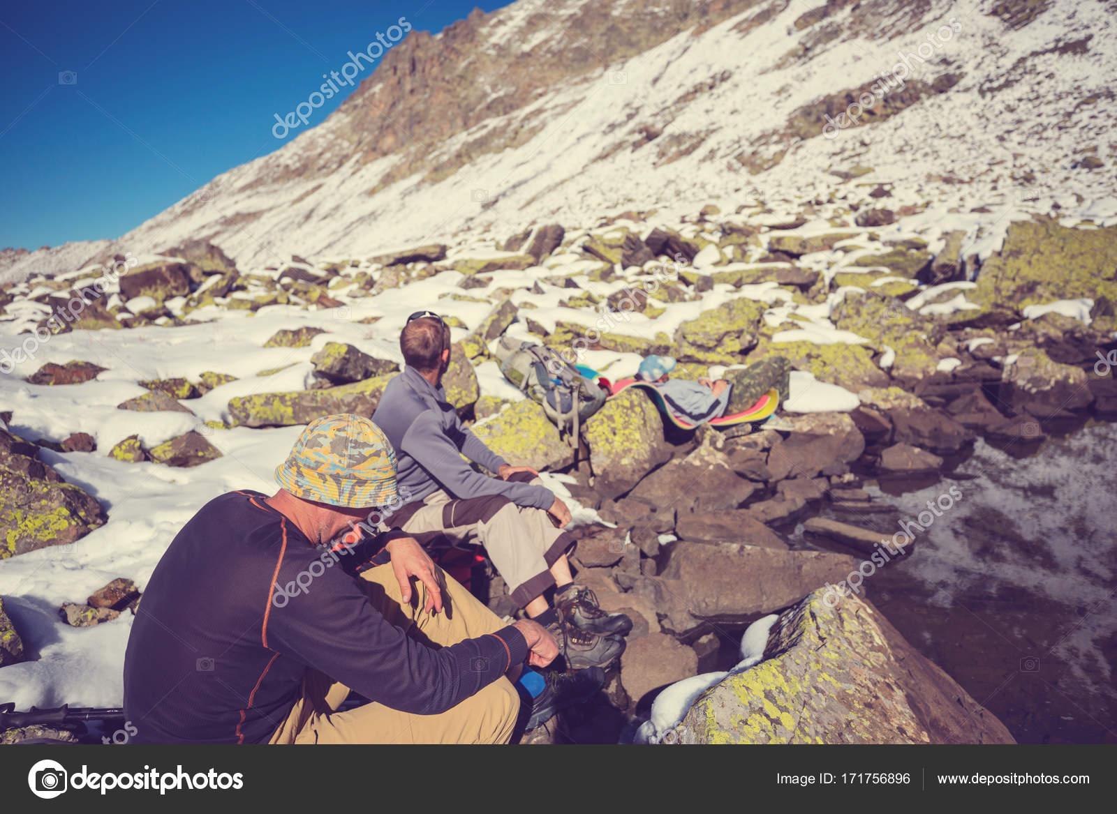 Rilassanti Soggiorni Montagna — Foto Stock © kamchatka #171756896