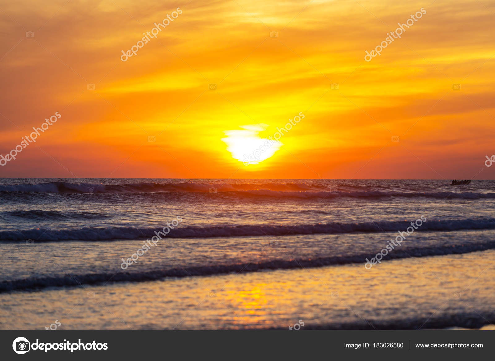 scenic colorful sunset sea coast good wallpaper background image