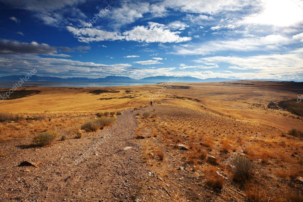 Prairie landscapes nature background