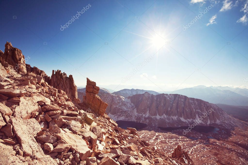 Sierra Nevada mountains nature landscape