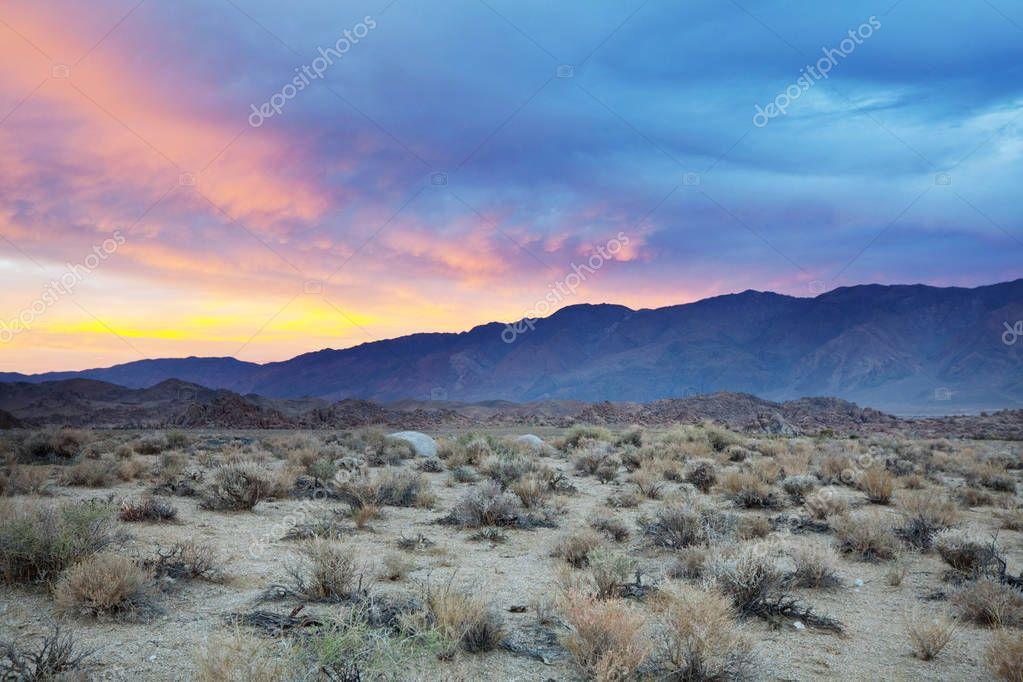 Prairie landscapes nature view