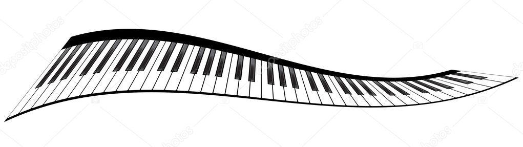 Teclados Piano Vector Ilustraciones Diferentes Angulos Y Puntos De Vista Nataly Nete