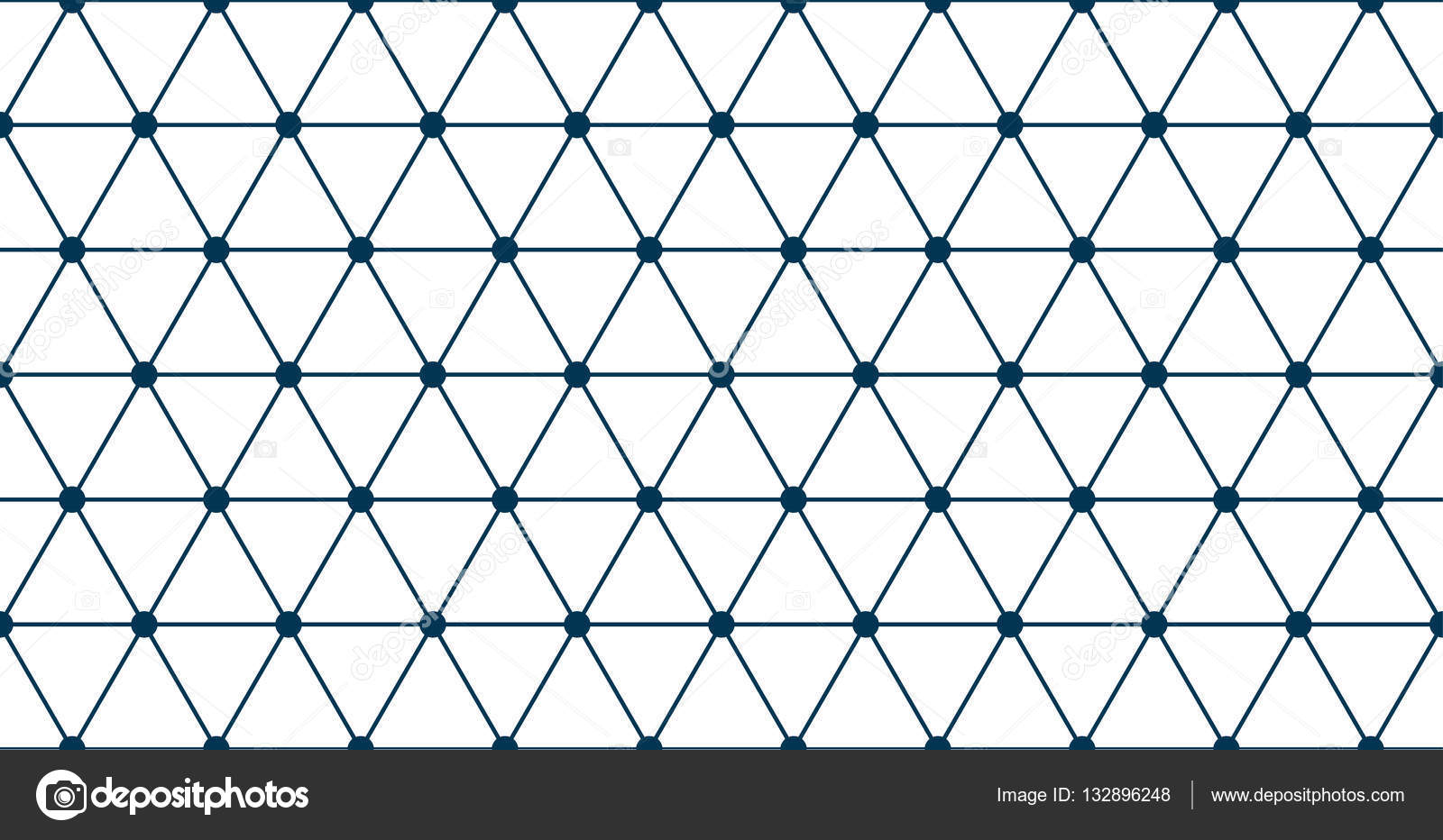 triangle grid seamless stock vector nataly nete 132896248