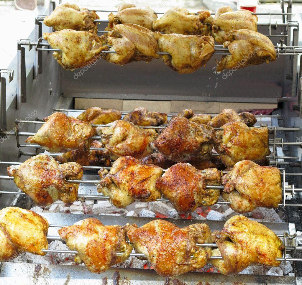 Куриное барбекю 9