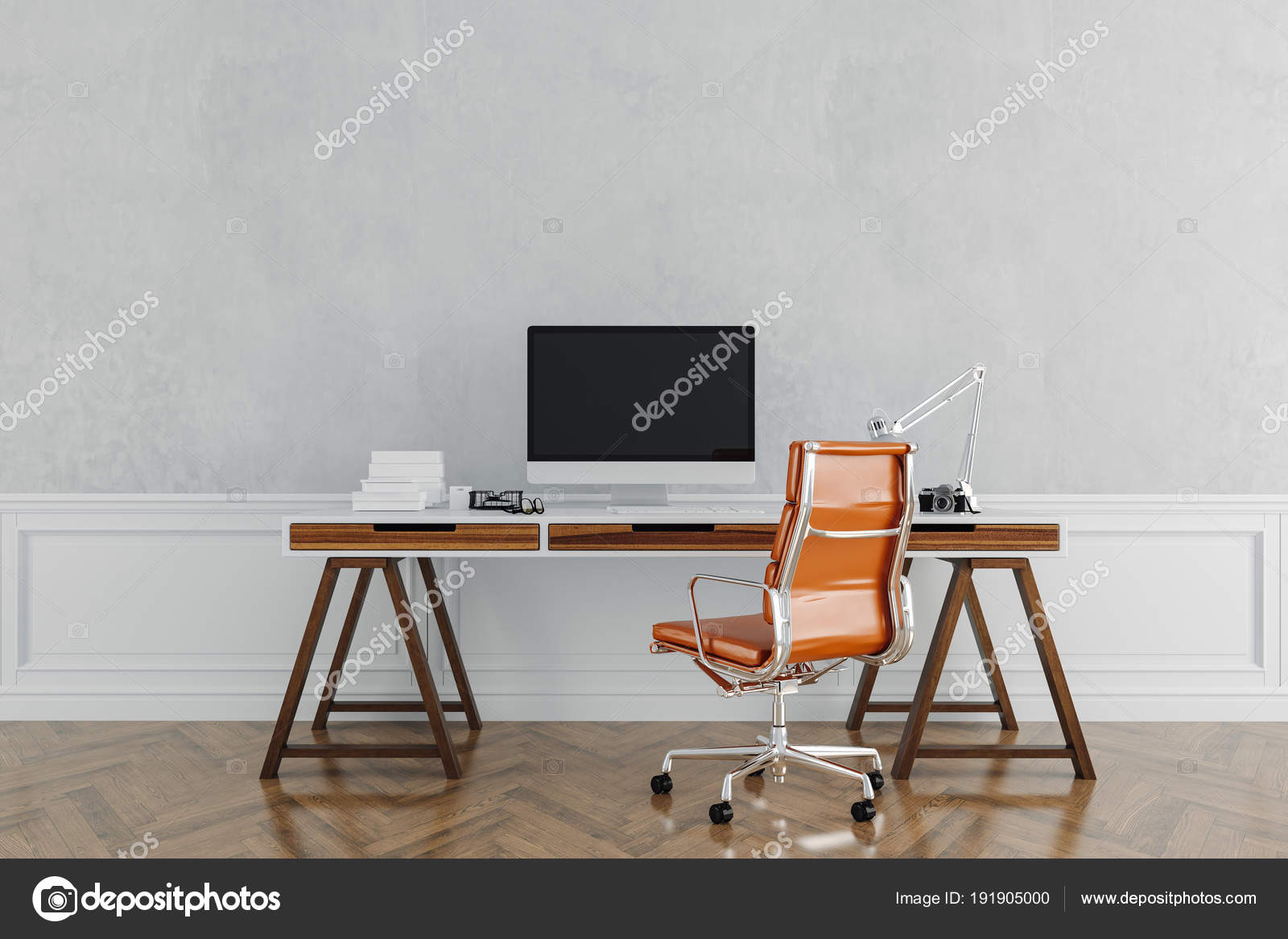 Bureau Travail Moderne — Photographie digitalgenetics © #191905000