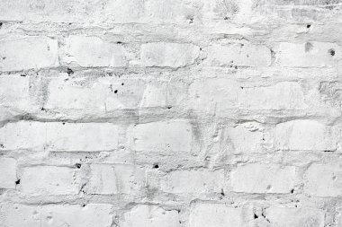 White brickwork as texture
