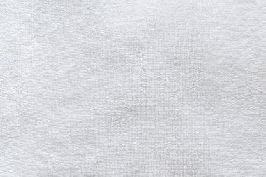 White bathroom towel texture