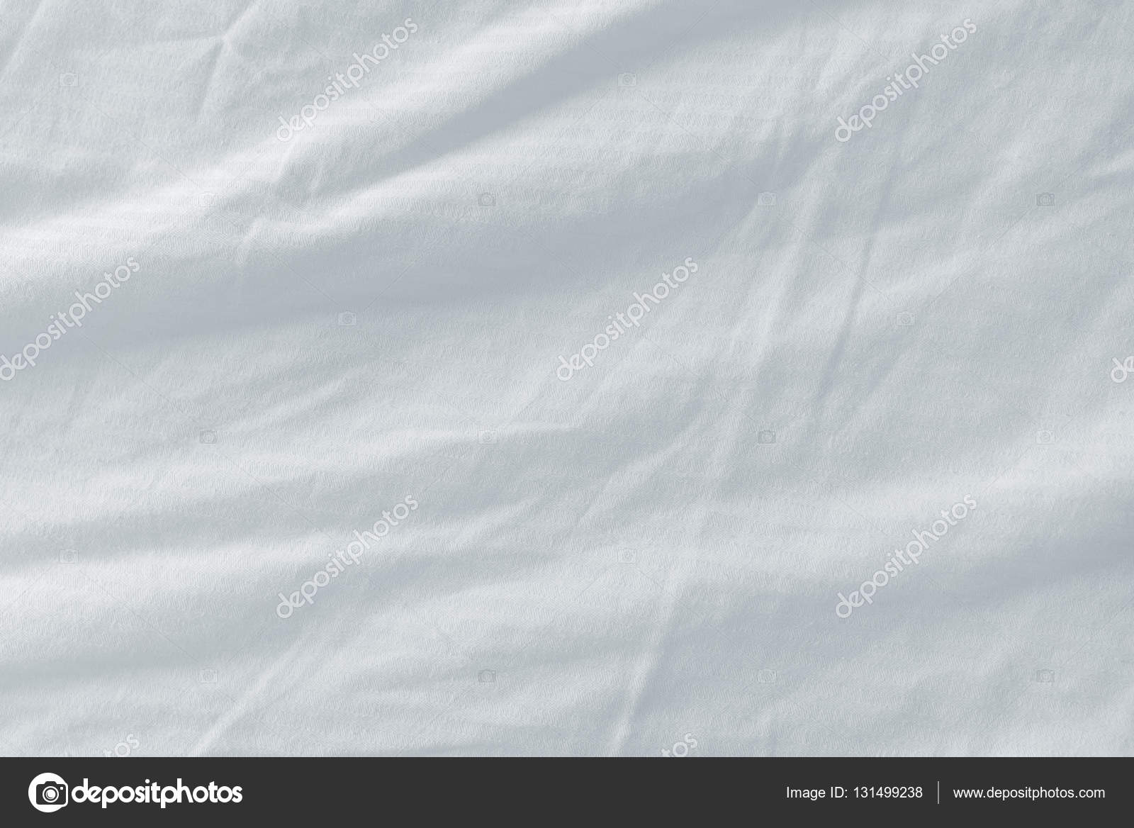 Bed sheets texture - Used Bed Sheets Texture Stock Photo 131499238