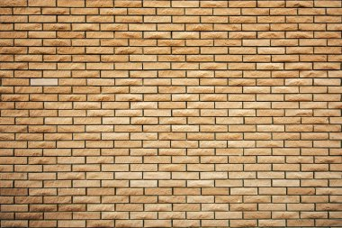 Brick wall surface
