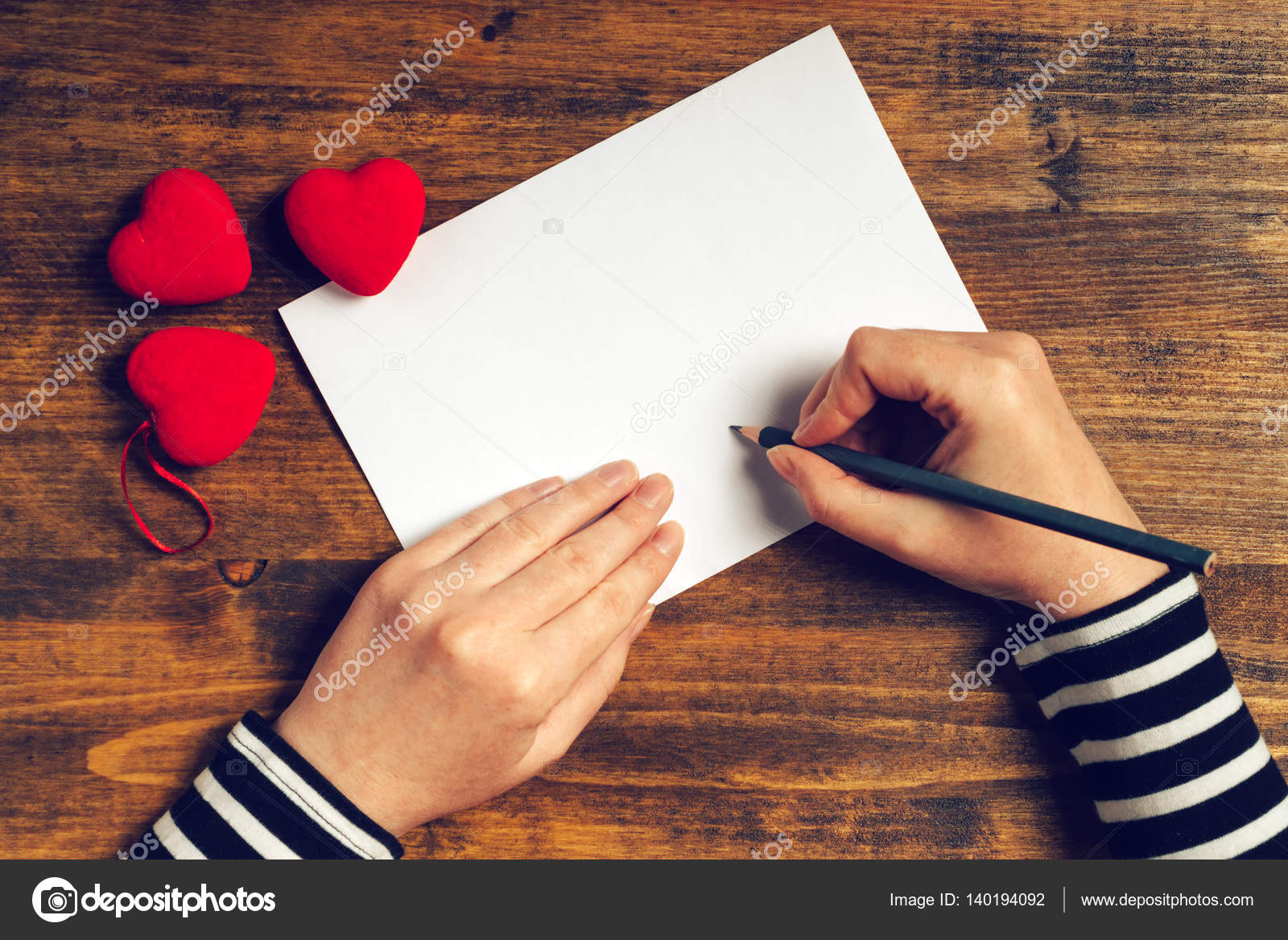 writing a love letter to a woman