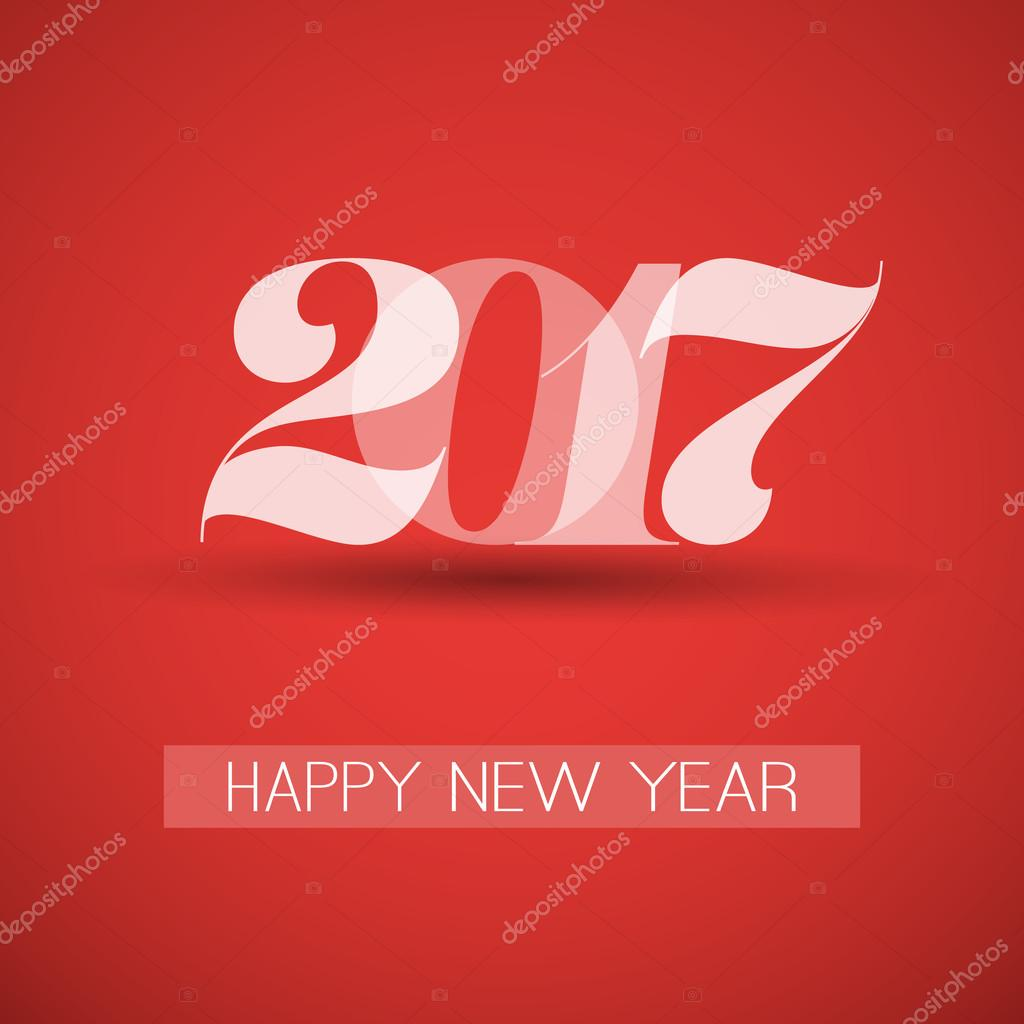 best wishes abstract colorful modern styled new year card cover or background design template with numerals illustration in freely scalable and