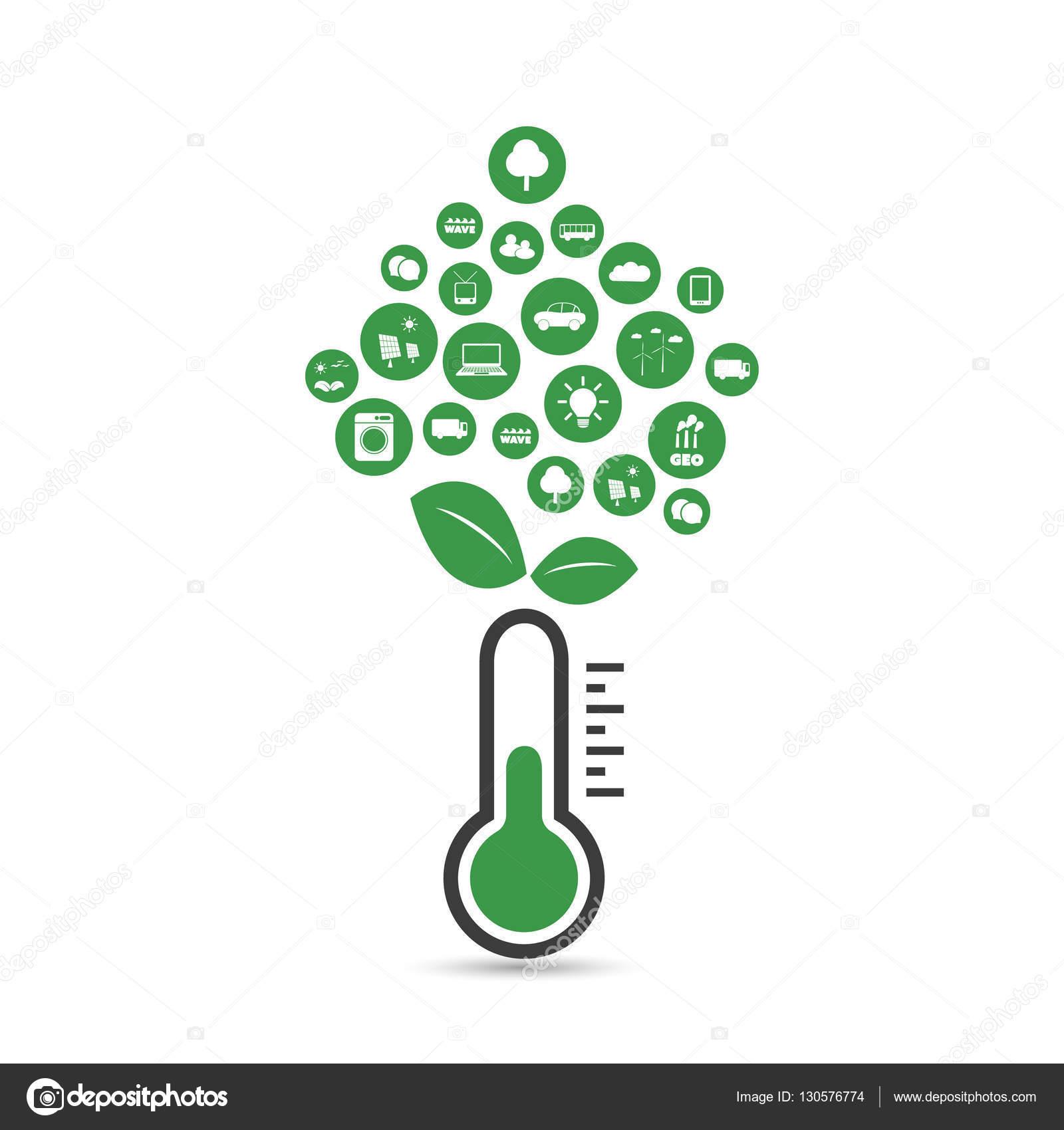 Calentamiento global, problemas ecológicos y soluciones - diseño de ...