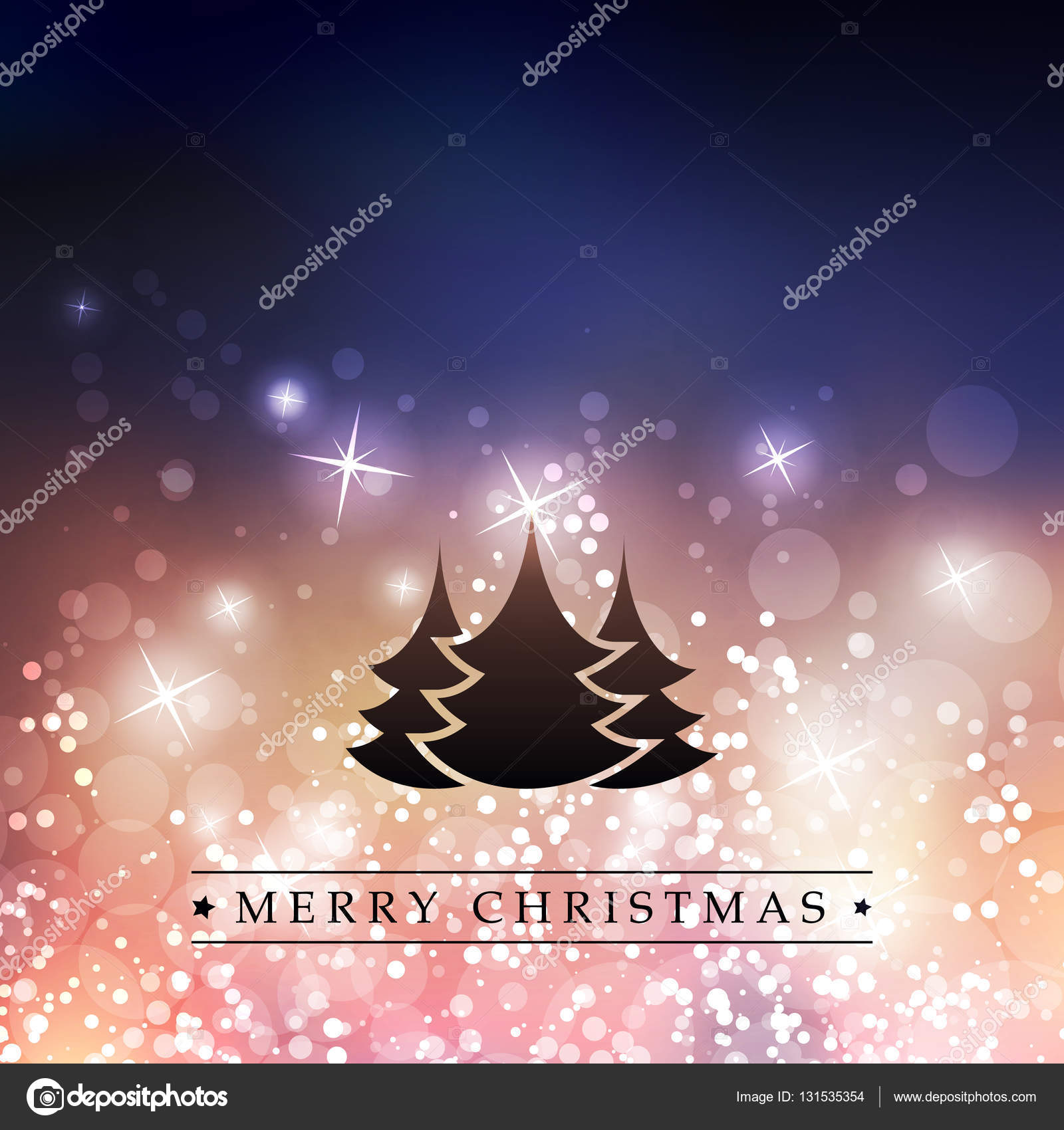 Colorful happy holidays merry christmas greeting card with label colorful happy holidays merry christmas greeting card with label christmas tree on a sparkling m4hsunfo