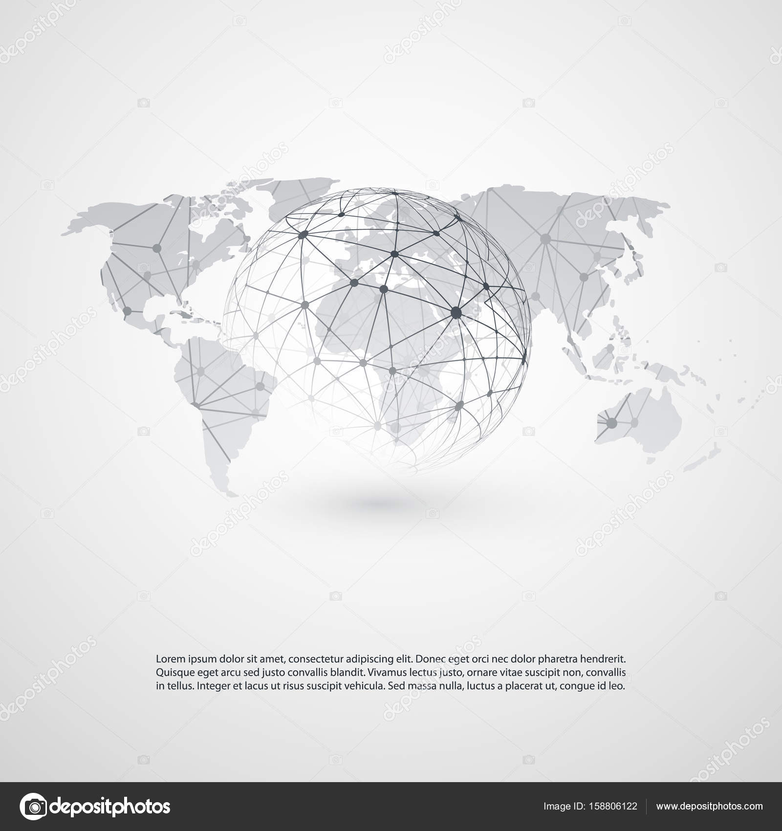 Cloud computing and networks concept with world map global digital cooperation it or technology concept background or cover design element template illustration in editable vector format vector by bagotaj gumiabroncs Image collections