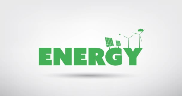 Alternative Energy, Ways of Clean Power Generation - Concept Animation