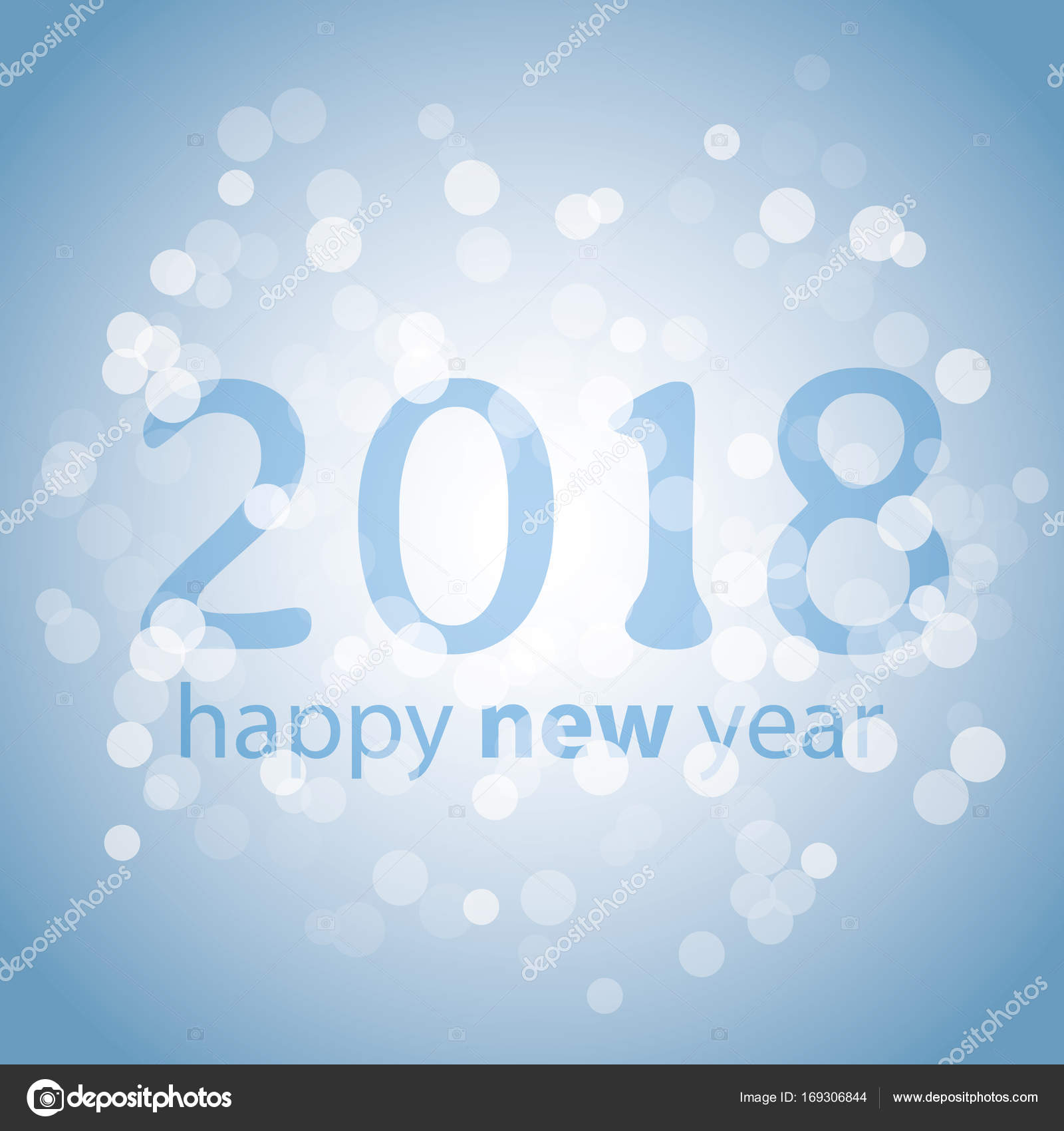best wishes abstract colorful modern style new year card cover or background design template with numerals illustration in freely scalable and editable
