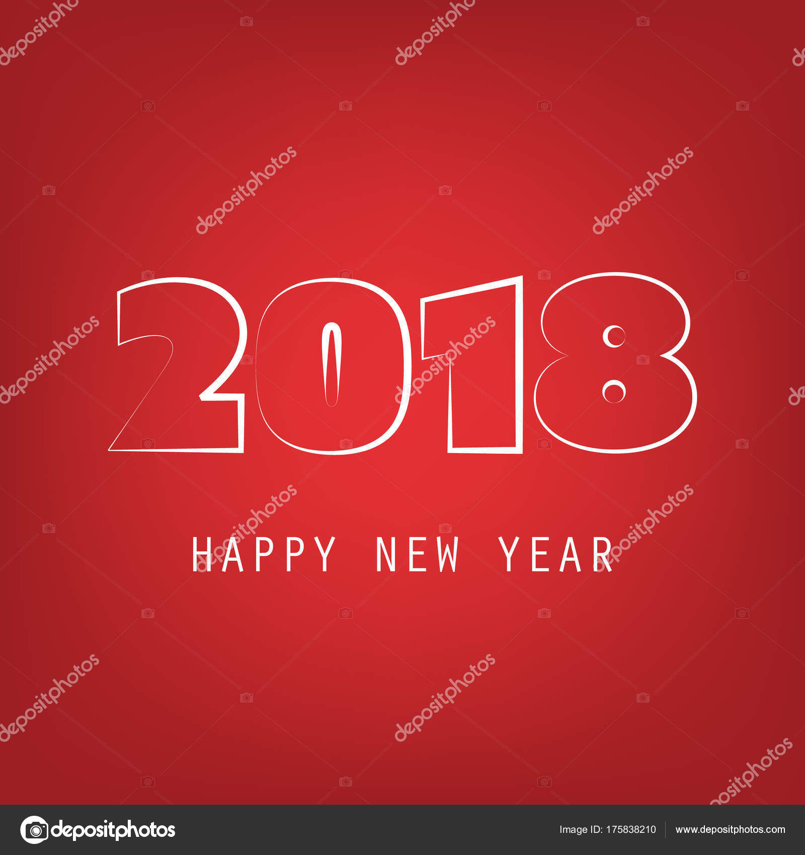 best wishes abstract colorful modern style new year card cover or background design template illustration in freely scalable and editable vector format
