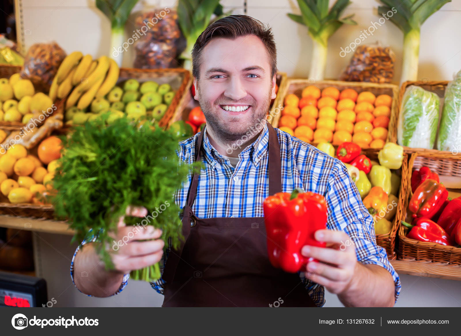Imágenes: Vendedor De Verduras