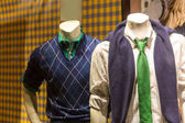 male mannequins in classic clothes