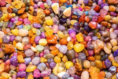 colorful jewelry stones