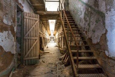 old prison interior