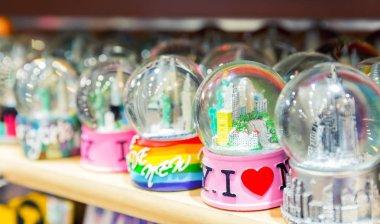 Snowball souvenirs I Love NY