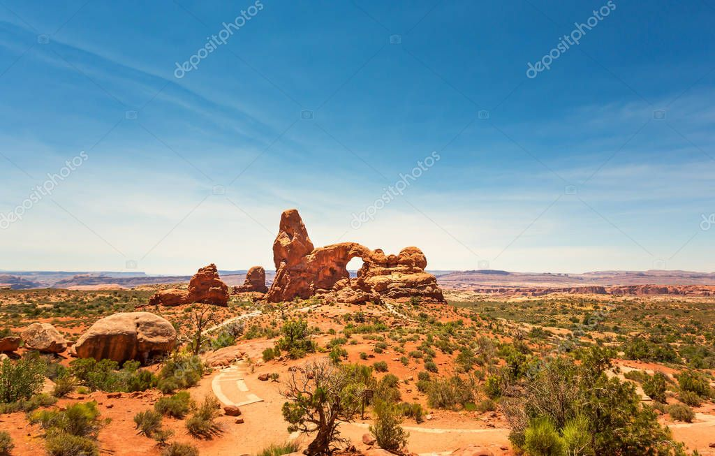 Arches National Park in USA