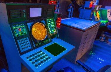 Aircraft carrier navigation equipment