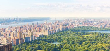 Manhattan cityscape with Central Park