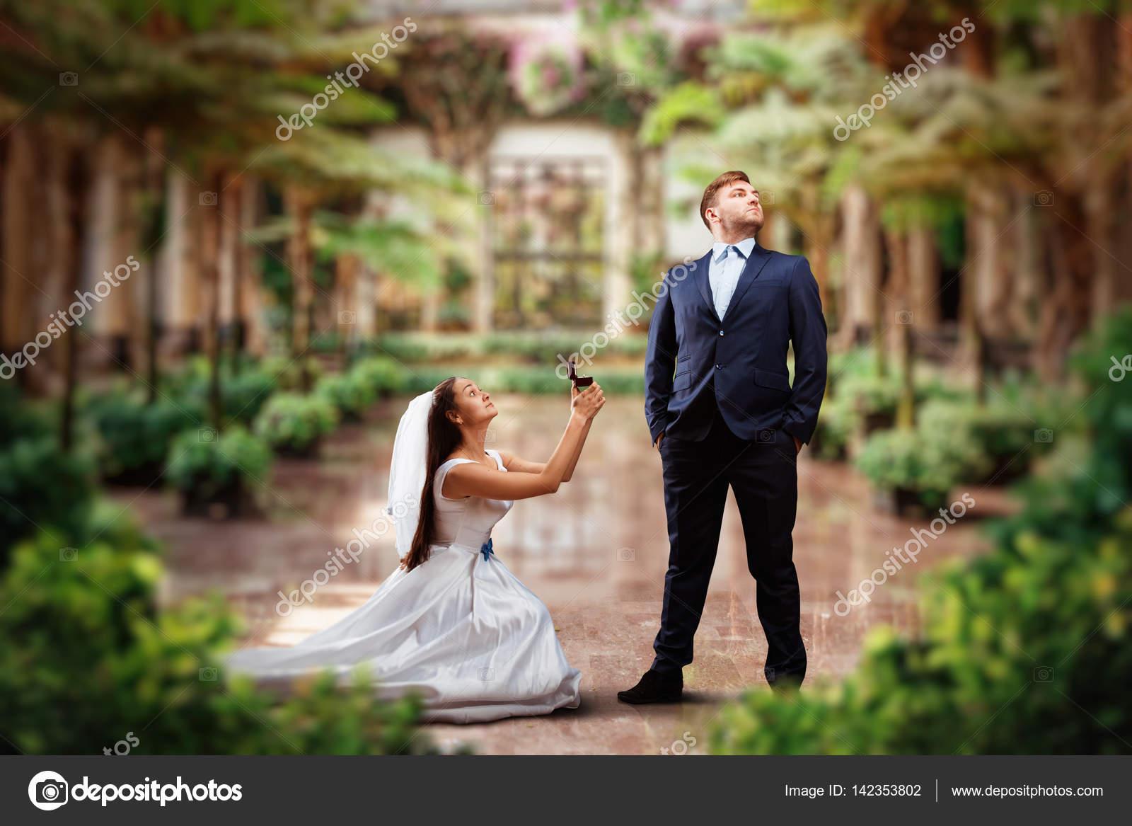 Как сделать романтическое предложение невесте