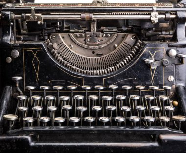 antique grunge typewriter