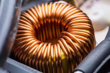 Electric transformer copper coil
