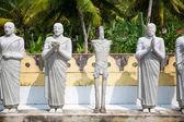 Fotografie Buddha statues in temple