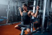 sportovní trénink v tělocvičně