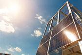 Sonnenkollektor-Batterie