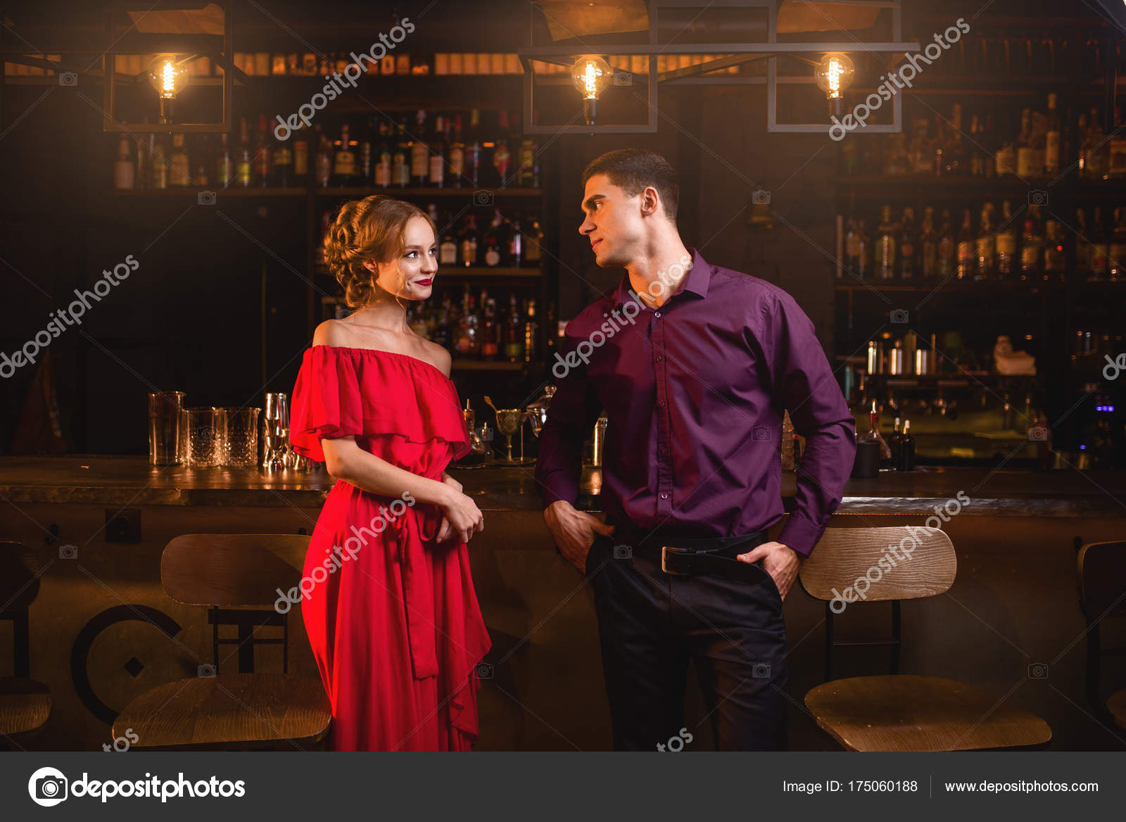 Apologise, but, wife flirting in bar
