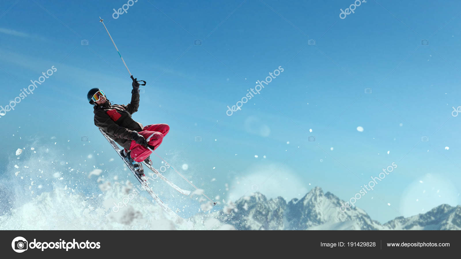 Snowboarder Jumping On Speed Slope Sportsman In Action Winter Active Sport Extreme Lifestyle Photo By Nomadsoul1 Find Similar Images