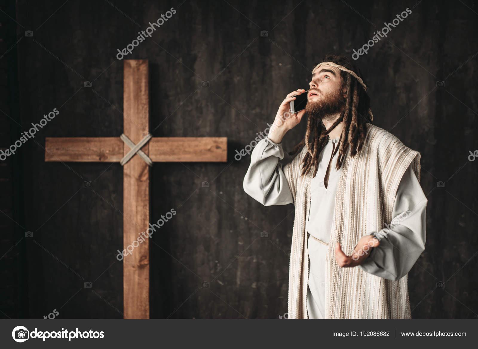 Background God Image With Black Jesus Christ Talking God