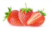 tři izolované jahody