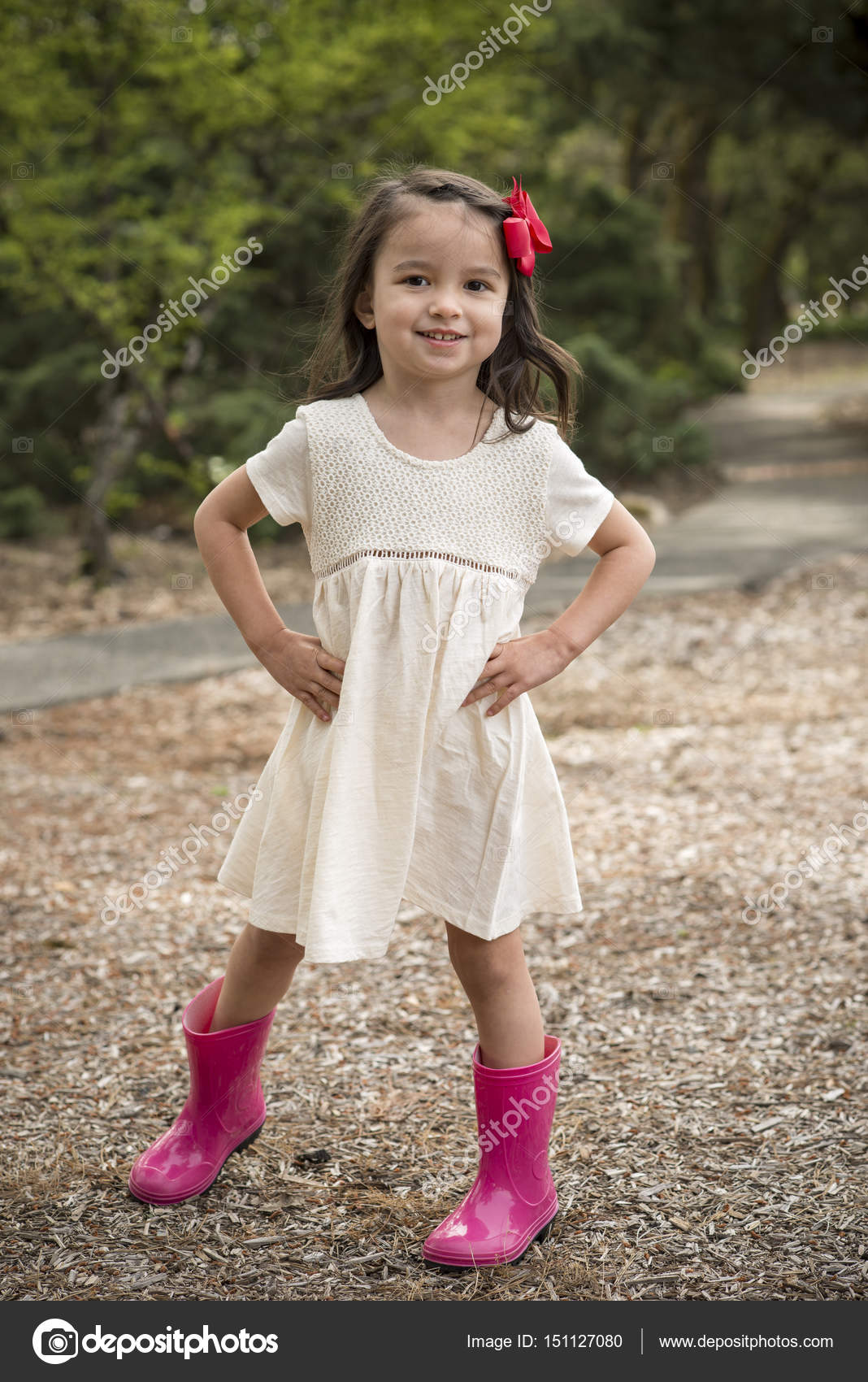 cute little girl posing — stock photo © shippee #151127080