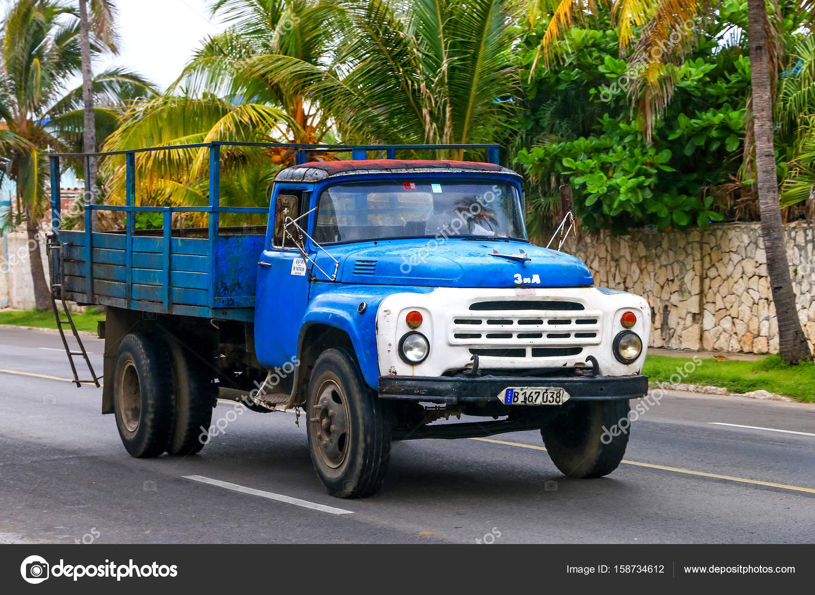 Truck ZiL 130 – Stock Editorial Photo © Artzzz #158734612