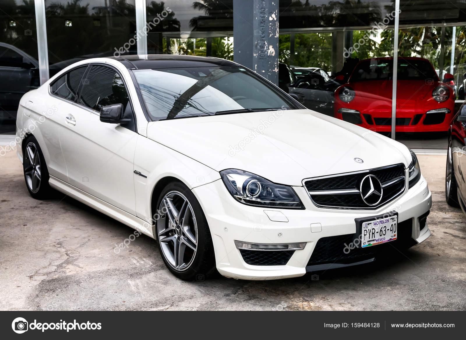 Mercedes Benz C63 Amg U2014 Fotografia De Stock