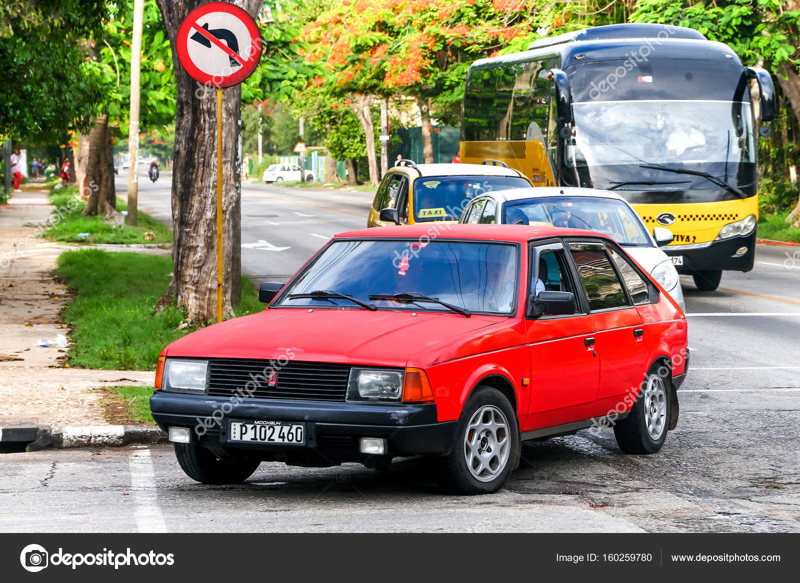 Moskvitch 2141 Aleko — Stock Photo