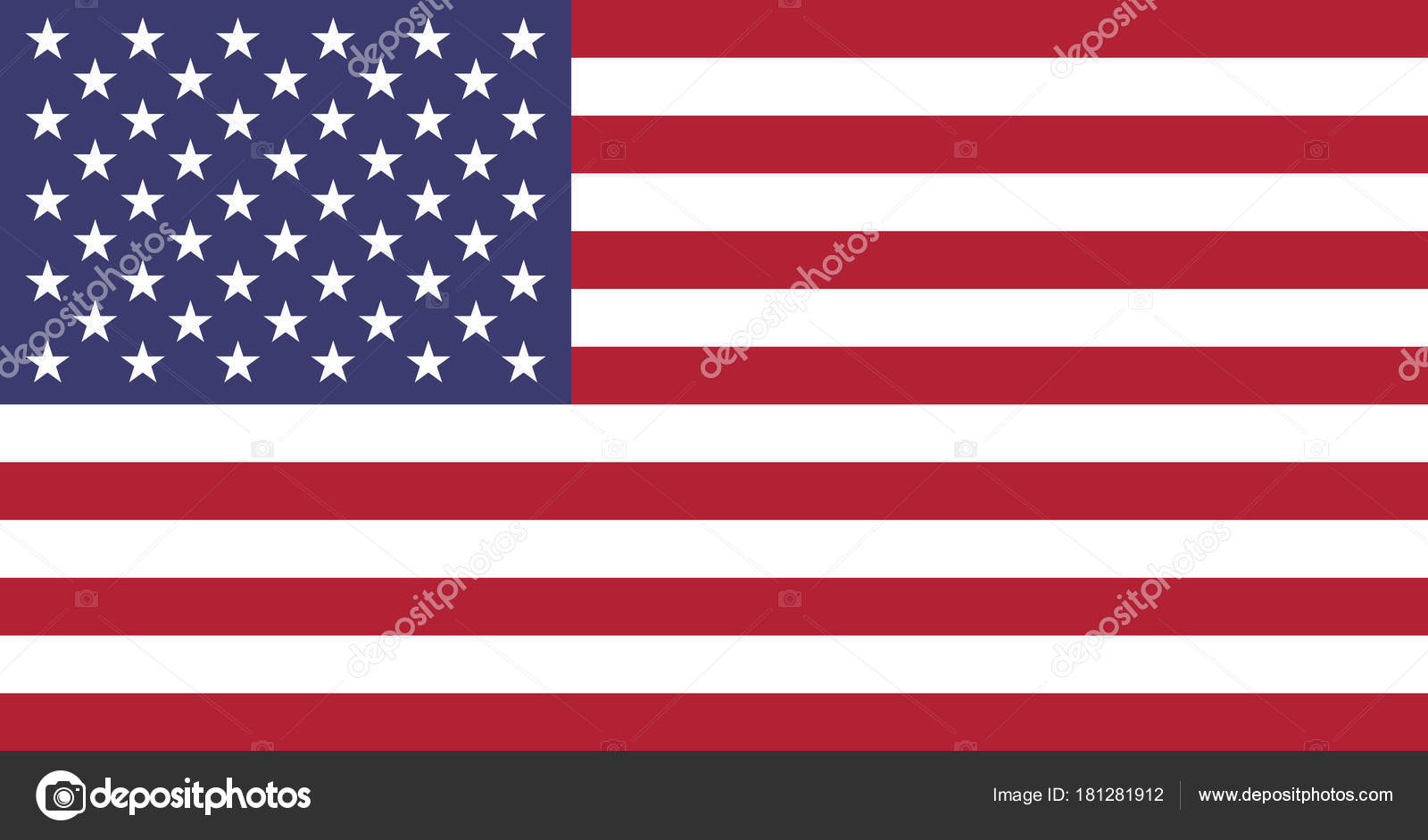 Flag united states america usa for How big is america