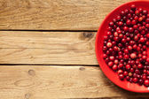 Fotografie Cranberries on a plate